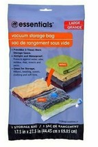 """Home Essentials Large Vacuum Storage Bag 17.5"""" X 27.5"""" - $7.24"""
