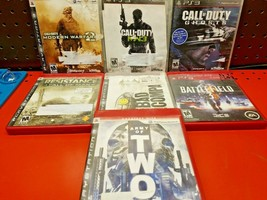 Call Of Duty Army of Two Battlefield 3 PS3 Game lot 7 Games TESTED - $19.79