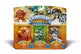Activision Skylanders Giants Triple Pack #6 (Eruptor Stealth Elf & Terrafin) - $30.09