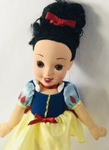 "Disney Snow White Princess doll-12"" Nice Hair vinyl face plush soft body... - $33.81"