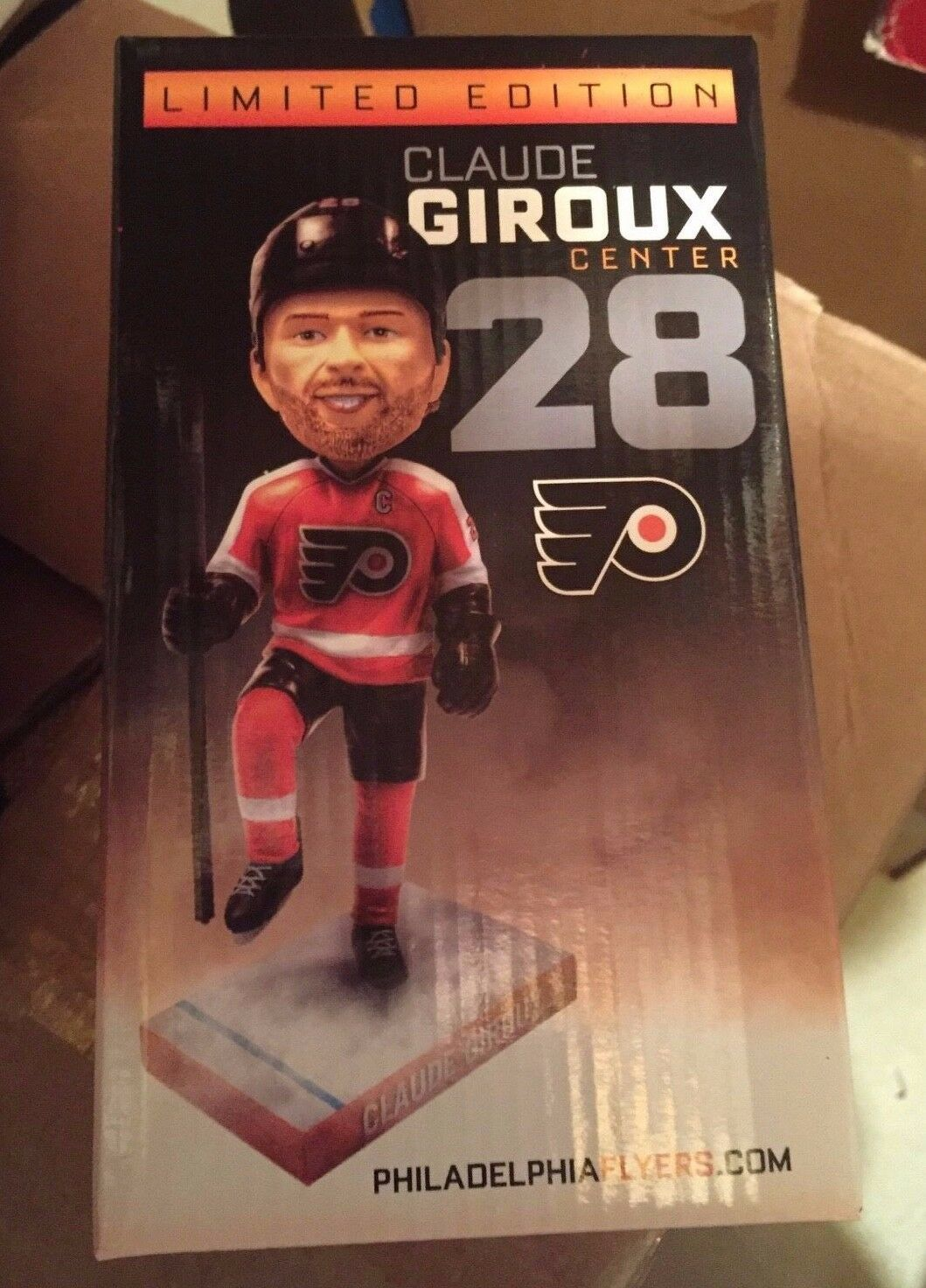 Primary image for NIB Claude Giroux Bobblehead Philadelphia Flyers LIMITED EDITION Center #28 BDA