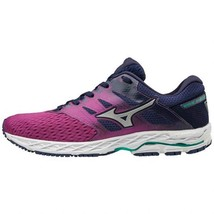 Mizuno Women's Wave Shadow 2 Running Shoe, Purple Wine/Patriot Blue, 11 B US - $79.19