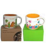 Starbucks Orlando Florida Coffee Mug Dolphins Palm Tree 2013 You Are Here  - $59.95