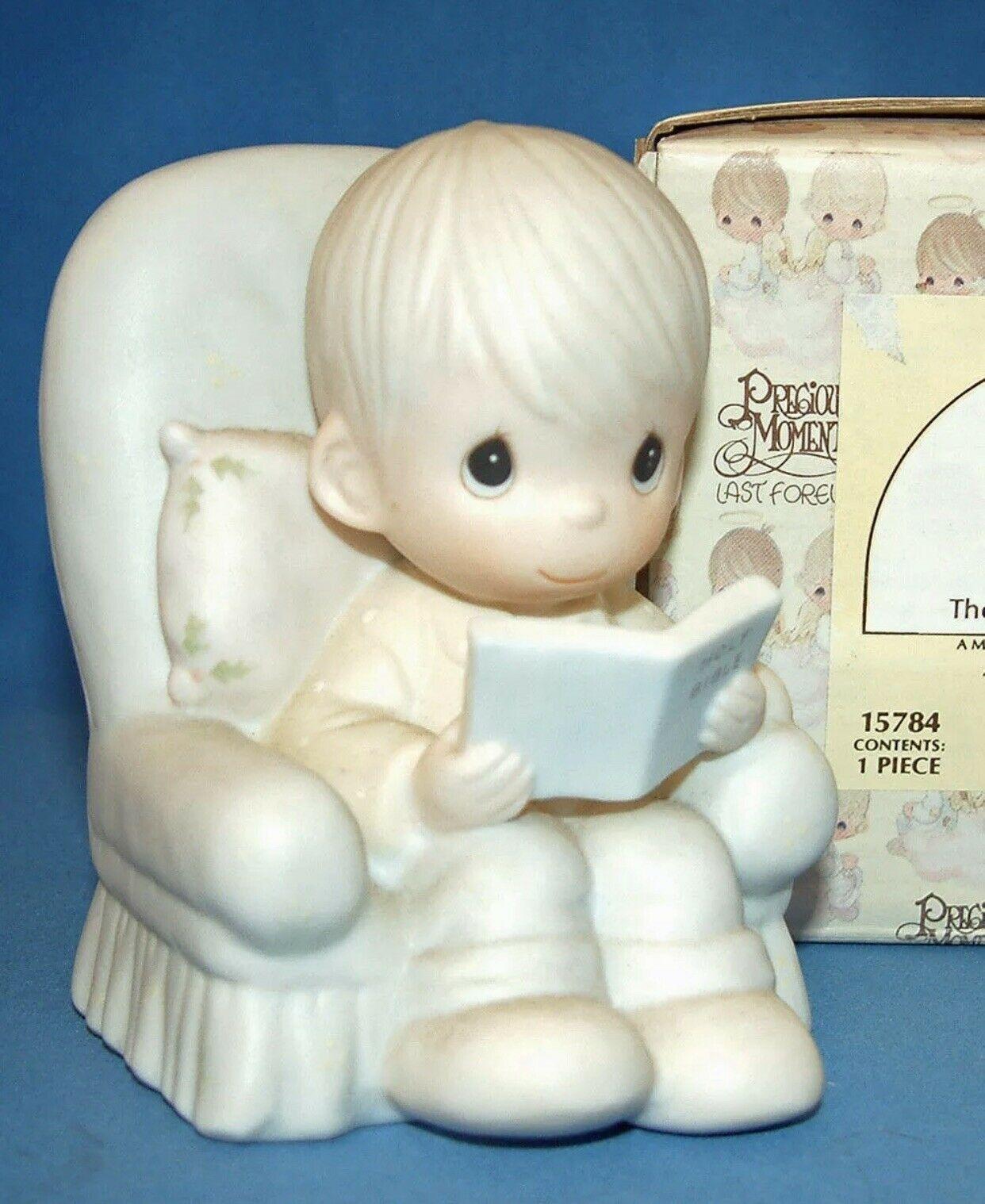 Precious Moments Figurine 015784 ln box The Story of God's Love