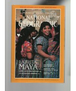 National Geographic - October 1989 La Ruta Maya, Copan, New Zealand, Pho... - $1.37
