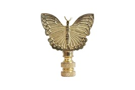 """Bronze Butterfly Table Lamp Finial 3"""" - $11.87"""
