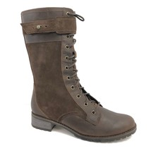 Timberland Women's Mid Zipper Brown Leather Tall Boots Style 6907B - $2.175,17 MXN