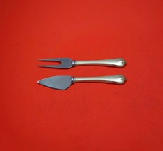 Grand Colonial by Wallace Sterling Silver Hard Cheese Serving Set 2pc Custom  - $109.00