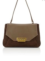Nwt ZAC Zac Posen Eartha Envelope Shoulder Bag Brown - $123.84