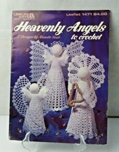 Heavenly Angels To Crochet 7 Designs (Leisure Arts #1471) By Nanette Seale - $40.00