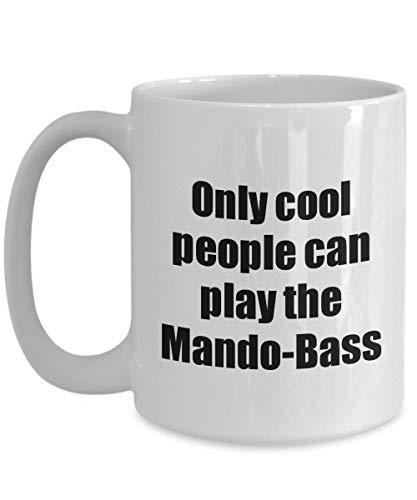 Primary image for Mando-Bass Player Mug Musician Funny Gift Idea Gag Coffee Tea Cup 15 oz