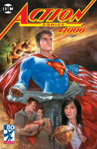 Action Comics #1000 DC Comics SUPERMAN Variant Cover Art by Dave Dorman - $19.79