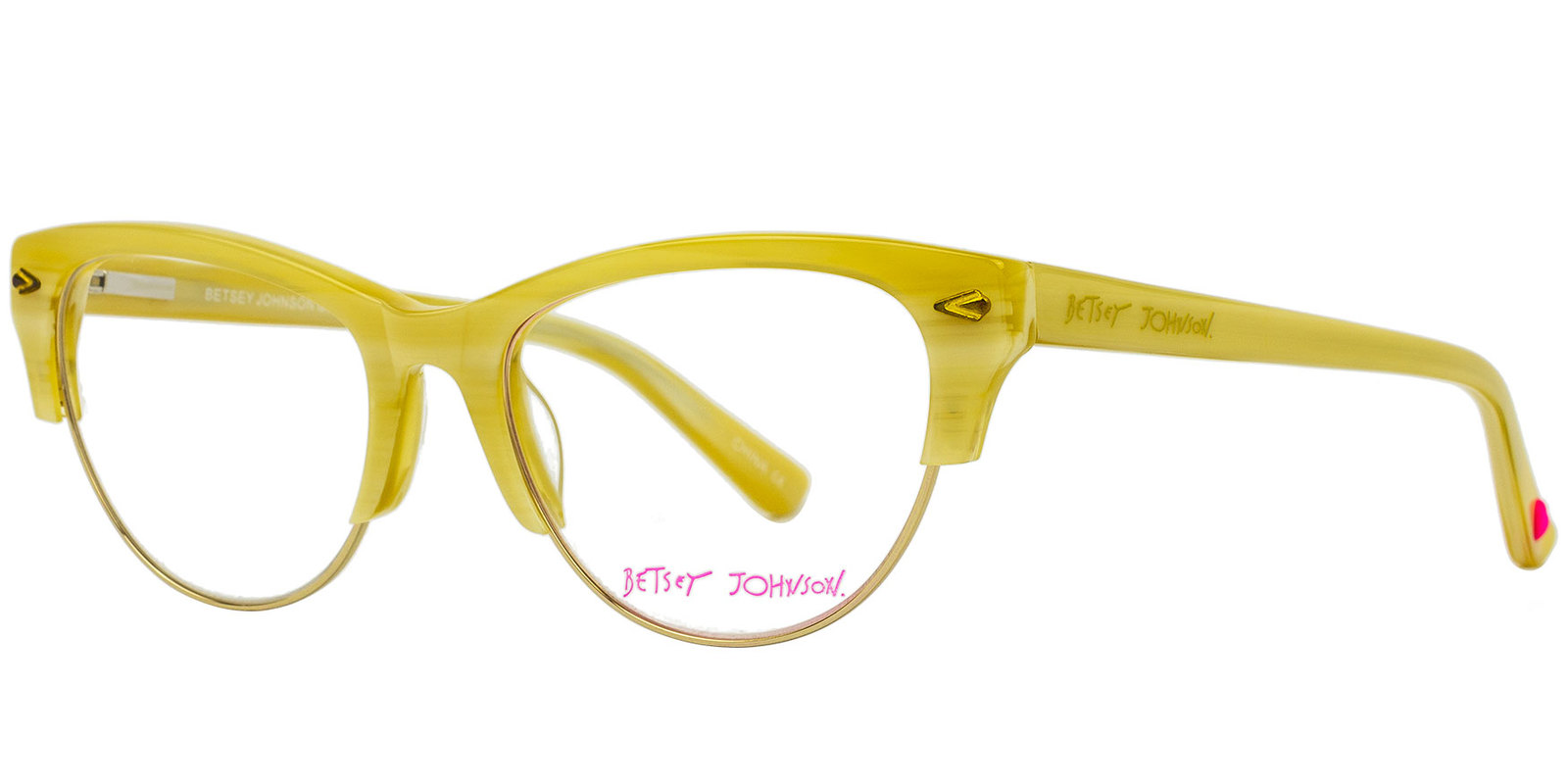 83890517546 Betsey Johnson Queen Bee Eyeglasses in Ivory and similar items