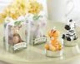 Born to be Wild Animal Place Card Photo Holders Set of 4 Baby Shower Favors - $11.14