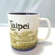 Starbucks Icon City Collector Series Taipei Coffee Tea Mug 16oz 2013 GUC - $24.69