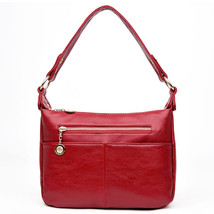 Women Bags Designer Real Leather Soft Luxury Sh... - $61.74