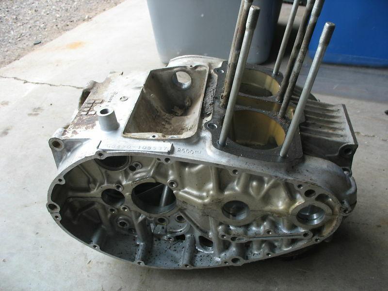 Engine Motor Crank Case Set 1980 80 SUZUKI GS450 GS 450 - $28.57
