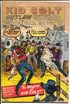 Kid Colt Outlaw-#91-1960-Marvel-Jack Kirby cover-Kid Colt Death-P - $22.70