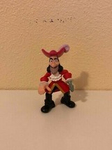 """Action Figure Jake and the Neverland Pirates Captain Hook 3"""" Mattel - $5.20"""