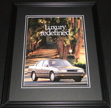 1989 Mazda 929 Luxury Redefined 11x14 Framed ORIGINAL Advertisement - $32.36