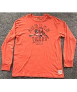 Auburn Tigers Men's Retro Brand Long Sleeve T-Shirt Size XL Orange - $15.44