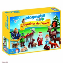 Advent Calendar For Kids Christmas Set Forest Toddlers Figures Colorful ... - $64.59