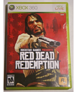 XBOX 360 - RED DEAD REDEMPTION (Complete with Manual) - $15.00
