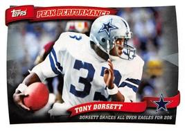 2010 Topps Peak Performers #PP14 Tony Dorsett > Dallas Cowboys  - $0.99