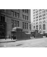 Entrance and exit to New York City subway East 23rd Street and Park Phot... - $8.81+