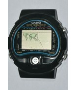 Vintage CASIO 815 TS-100 Thermo World Time Digital Watch For Repair OR P... - $84.11