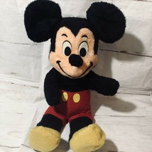 1960 Disney Parks Mickey Mouse Plush 2ft Bendable Ears Red Flannel Shorts - $133.65
