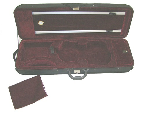 "Merano CA500 15.5"" - 16"" Lightweight Oblong Viola Case"