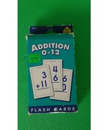 Flash cards Addition 0 - 12 , 55 cads plus 1 parent Card by School Zone - $2.97