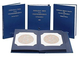 Surgical Works Ishihara Colour Vision Test Book For Color Deficiency - 2... - $42.08