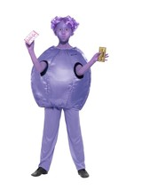 Roald Dahl Deluxe Violet Beauregarde Costume,Licensed Fancy Dress, Age 10-12 - $33.68