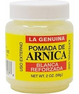 POMADA DE ARNICA BLANCA REFORZADA LA GENUINA 2 oz - $7.91