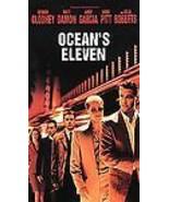 """Oceans Eleven"" VHS *Clooney, Damon, Garcia, Pitt, Mac* - $3.95"