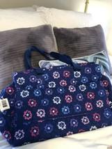 Vera Bradley NWT Triple Compartment Travel Bag Ellie/flowers NWT - $99.74