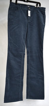 Ann Taylor Loft Pants Corduroy Blue Slim Bootcut Modern Boot 29 8 Womens NWT - $29.70