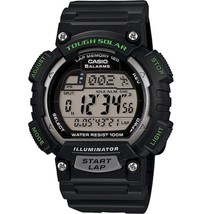 Casio STL-S100H-1A Men's Tough Solar Power Digital Watch Green w/BOX - $36.14
