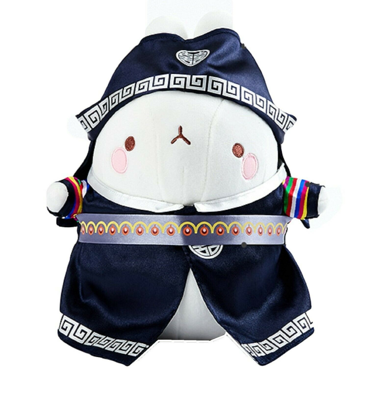 "Molang Hanbok Stuffed Animal Rabbit Plush Korean Costume 10.2"" (Male)"