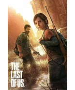 Last Of Us Part 1 Joel & Ellie 24x36 Poster! - $11.14