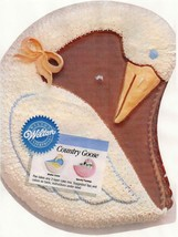 Wilton Country Goose Flamingo Swan Cake Pan (2105-2499, 1988) - $15.11