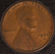 1927-S Lincoln Wheat Back Penny F12 #869 image 3