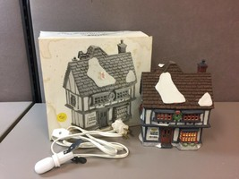 "Department 56 Dickens' Village ~""Tutbury Printer"" Original Box #55689 - $41.57"