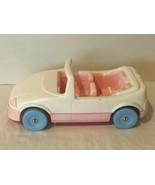 Playskool Doll House Convertible Sports Car Item 1593 Mattel 1992 White ... - $29.99