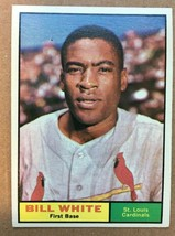 1961 Topps #232 Bill White Baseball Card NM Condition ST. Louis Cardinal... - $4.99