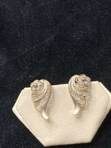 Very Nice Vintage German Sterling Silver Clip On Filigree Earrings are f... - $25.00