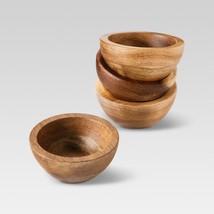 Threshold Set of 4 Natural Acacia Dip Bowls - €12,99 EUR