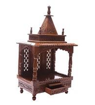 Handcrafted Wooden Sheesham TempleMandir Festival season - $551.19